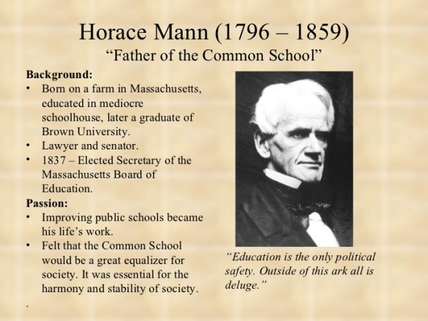 Horace Mann Biography