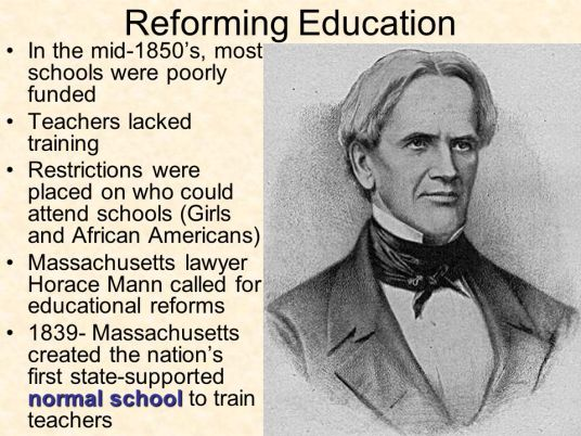 Horace Mann - Reforming Education