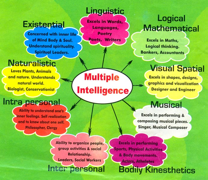 the realization of gardner s multiple intelligences Gardner's theory of multiple intelligences has never been validated.