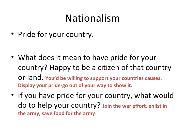 nationalism and imperialism relationship quizzes