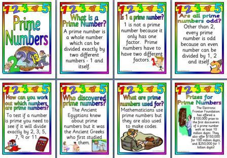 Prime Numbers Quiz