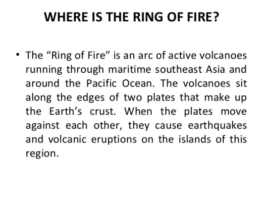 Ring of Fire - Where is it
