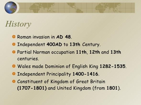 Wales History