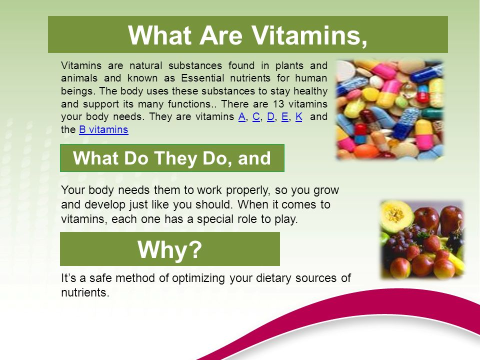 how many vitamins are there ? | know-it-all, Cephalic Vein