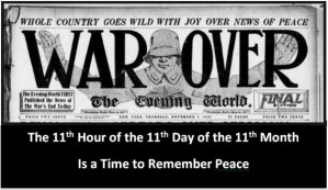 11 Hour - 11 Days - 11 Months - Remember Peace