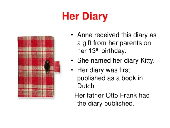 Anne Frank - Her Diary