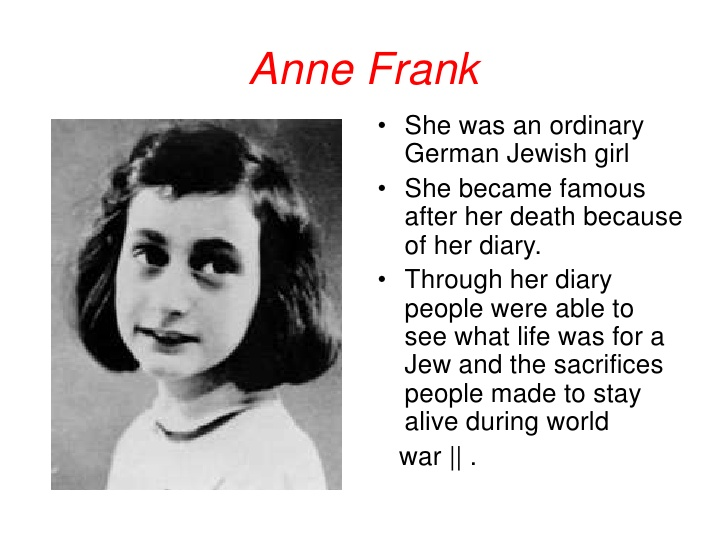 The Diary Of Anne Frank Anne Frank House Know It All