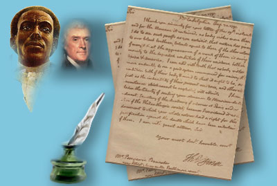benjamin banneker letter to thomas jefferson who invented the clock it all 4252