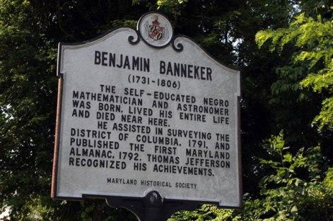 Benjamin Banneker Marker