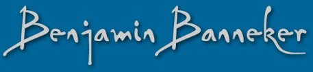 Benjamin Banneker Signature