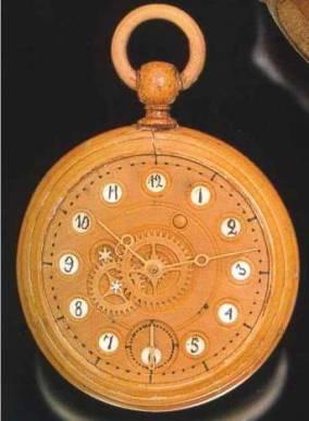 Benjamin Banneker - Wooden Watch Clock