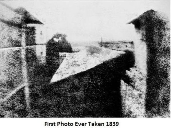 first photo ever taken 1839