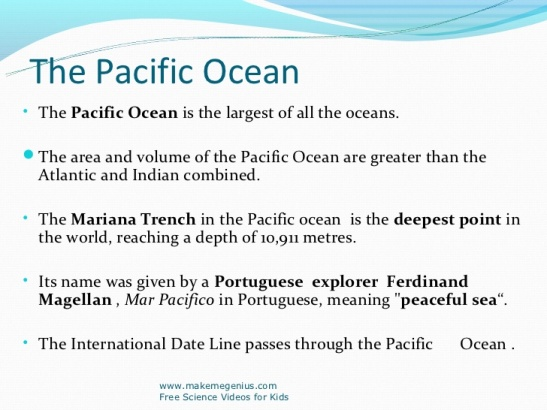 Pacific Ocean Facts 2