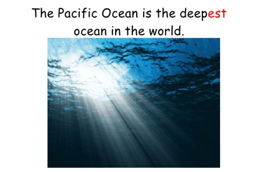 Pacific Ocean the Deepest Ocean in the World