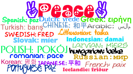 Peace in All Languages