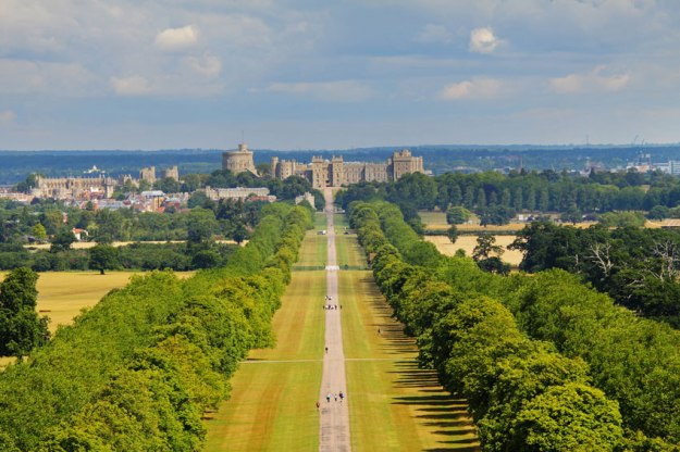 Windsor Castle and Landscape