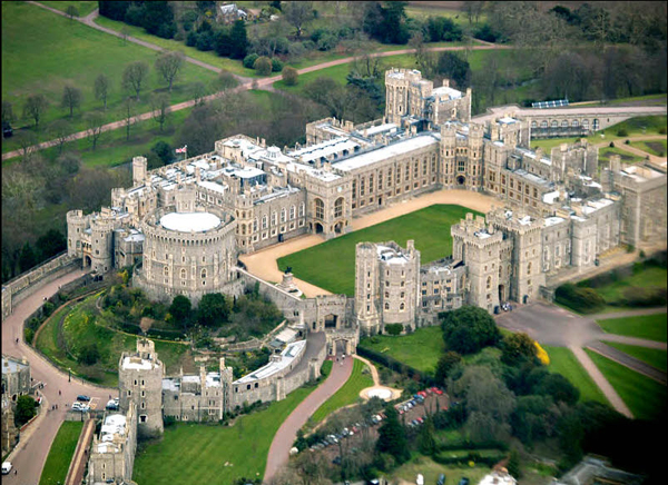 Windsor Castle - Bird's Eye View