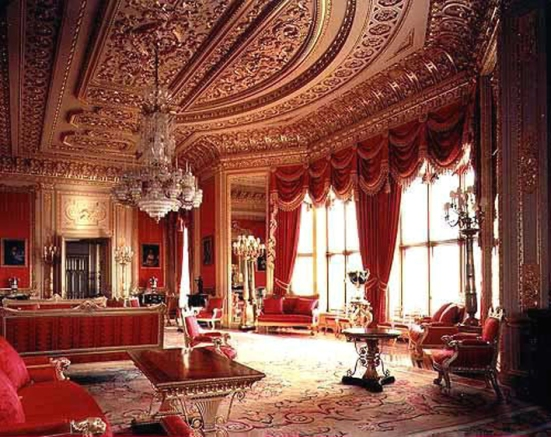 Windsor Castle - Crimson Room