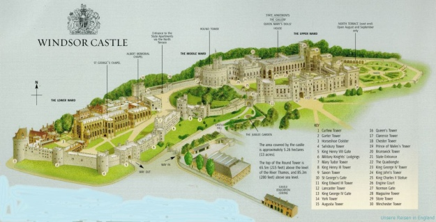 Windsor Castle Map