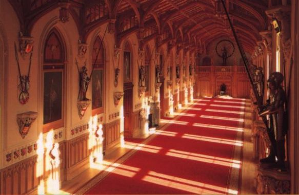 Windsor Castle - Red Hall