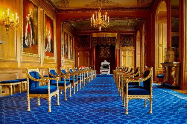 Windsor Castle - Throne Room