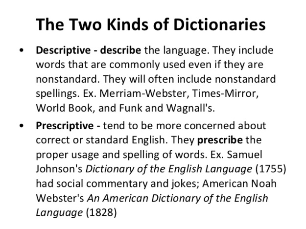 2 - The Two Kind of Dictionaries