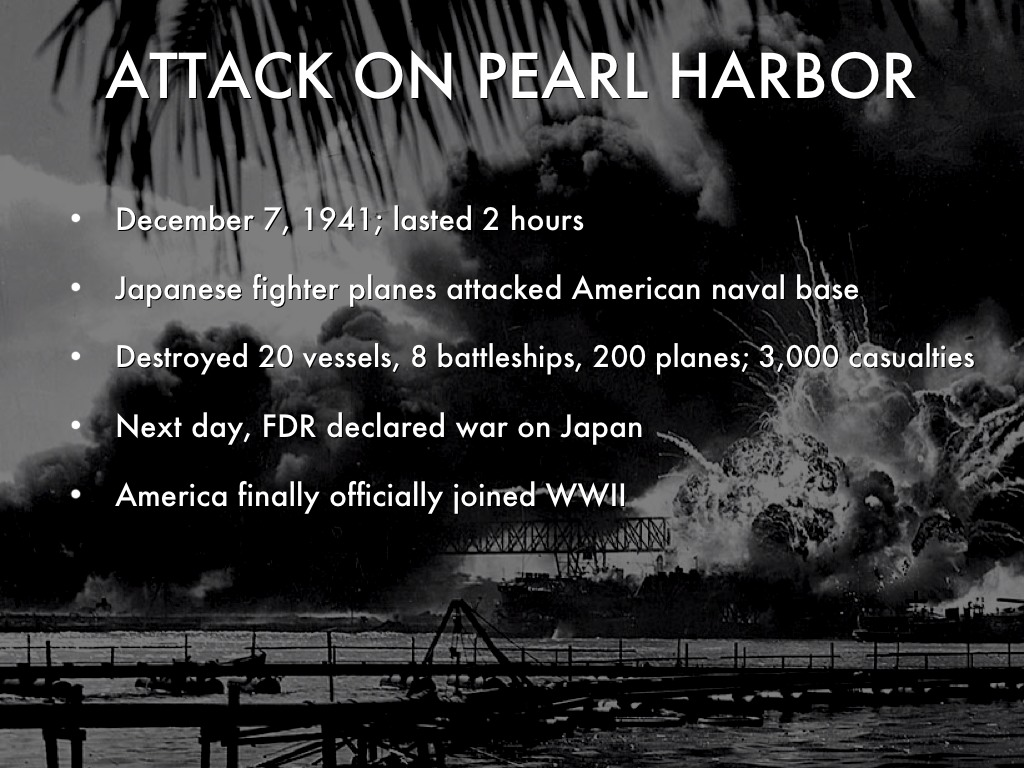 Attack on pearl harbor date in Perth