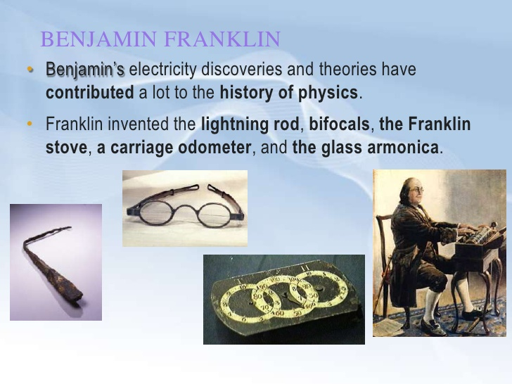 the major inventions and impact of ben franklin on the world history Transcript of why did benjamin franklin change the world benjamin franklin's inventions and that is what has made him such an important person in the history.