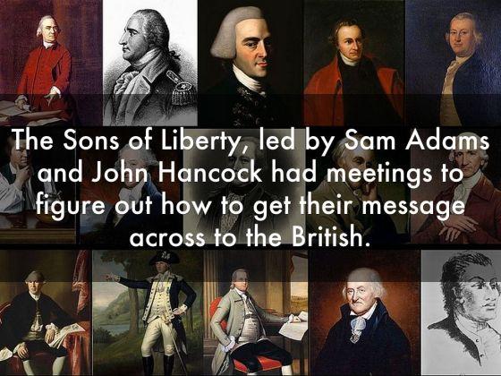 Boston Tea Party - Sons of Liberty