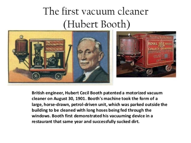 Cecil Booth - Vacuum Cleaner