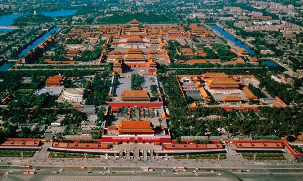 Forbidden City - Aerial View