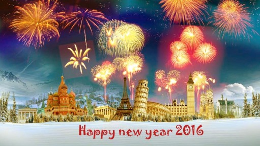 Happy New Year 2016 !