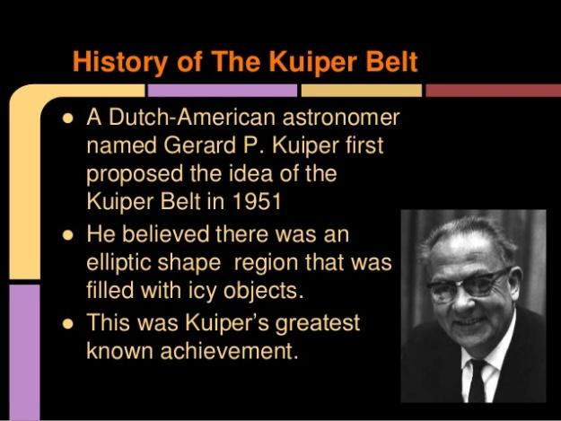 History of The Kuiper Belt