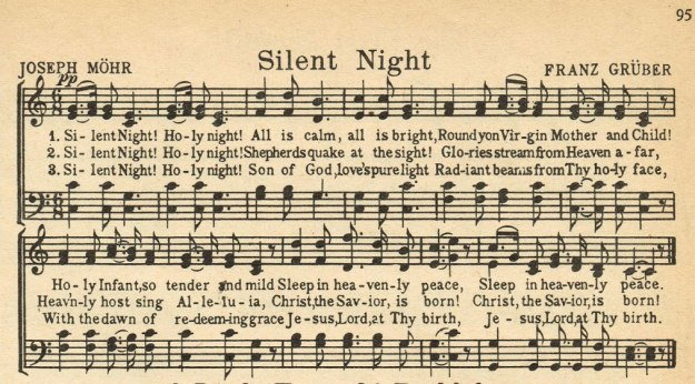 Silent Night by Joseph Mohr and Franz Gruber
