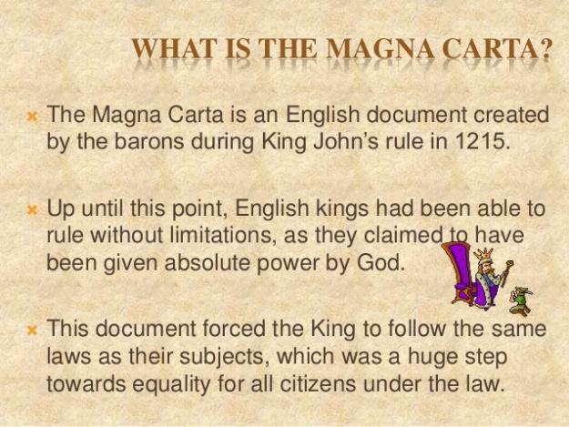 1 - What is Magna Carta