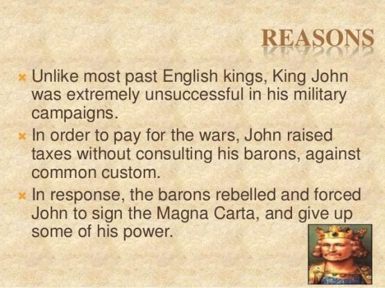 3 - Magna Carta Reasons