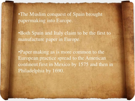 4 - History of Paper - History