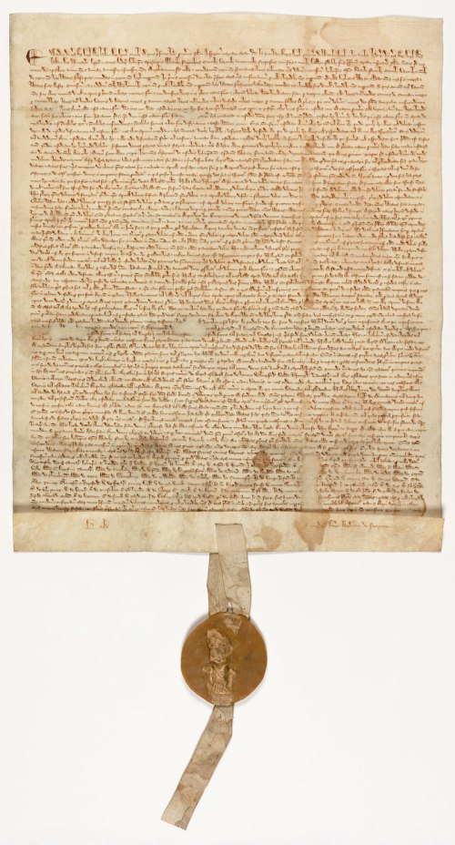 Magna Carta 1215 - Authentic Document