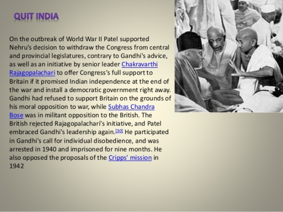 Sardar Vallabhbhai Patel Biography 4