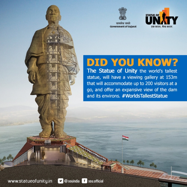 Statue of Unity - Facts