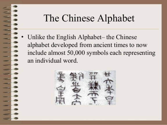 ancient chinese writing alphabet