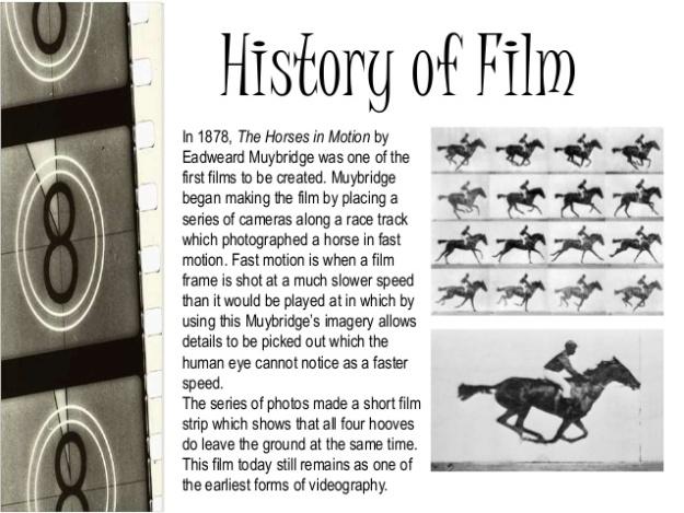 Eadweard Muybridge - History of Film