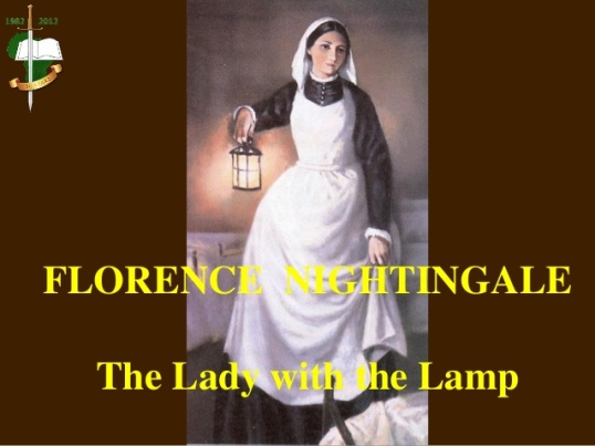 Florence Nightingale - Lady with the Lamp
