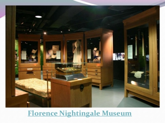 Florence Nightingale Museum inside