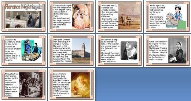 Florence Nightingale Timeline