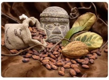 Aztecs discovered Chocolate