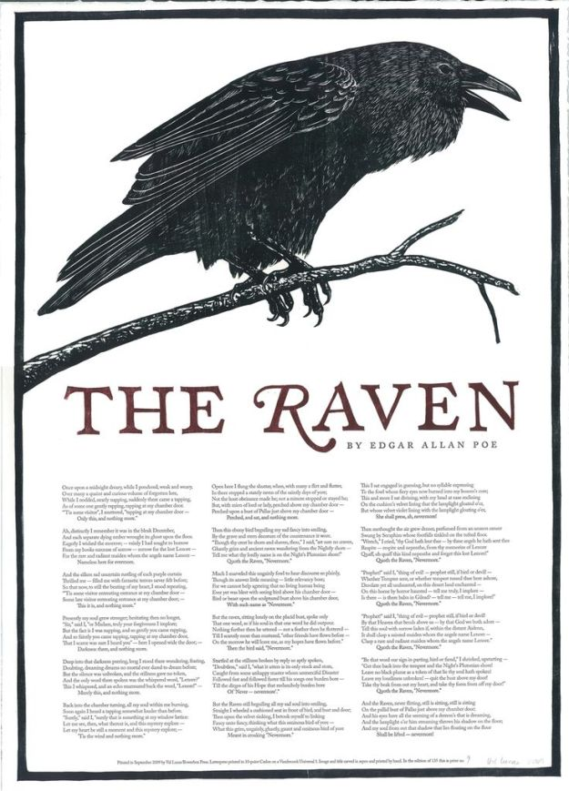 edgar allen poe the raven essay Edgar allan poe the raven [first published in 1845] once upon a midnight dreary, while i pondered weak and weary, over many a quaint and curious volume of forgotten lore.