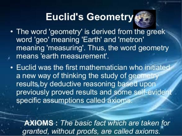 Euclid's Geometry