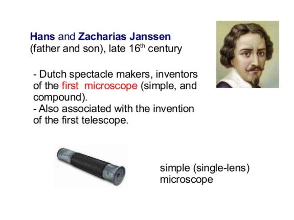 Zacharias Jansen - First Microscope