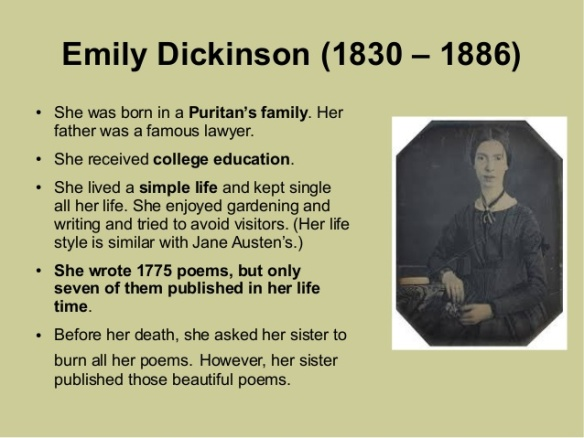 Emily Dickinson Biography